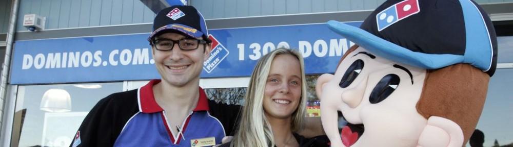 Domino's Coolum delivers dough for Local Boardriders
