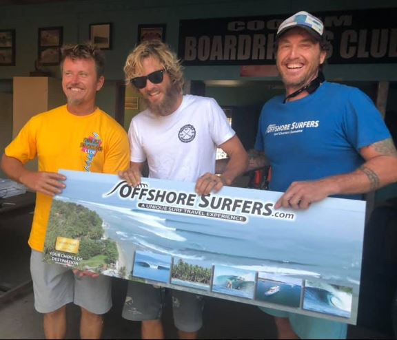 Lucky Zach scores the Offshore Surfers Dream Trip. Well done Legend and a massive thanks to Troy and crew from Offshore Surfers for your ongoing support.